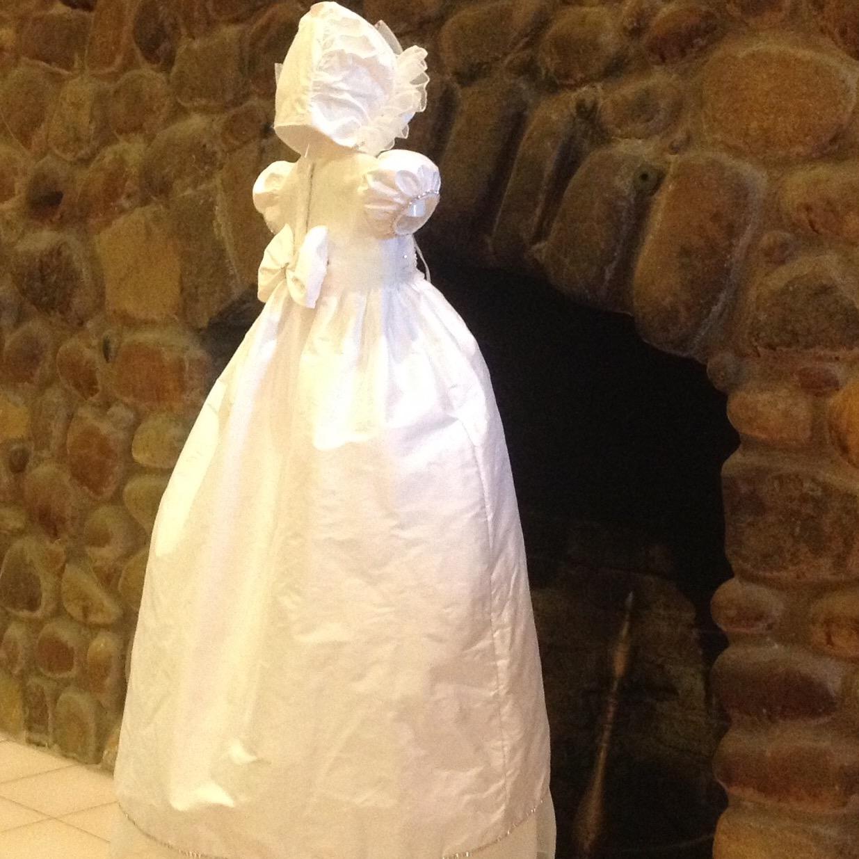 Emma Christie Helene Christening Baptism Gown Dress